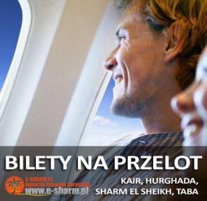 E-SHARM Bilety lotnicze przelot Egipt