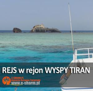 E-SHARM PL Wyspa Tiran rejs na snorkeling