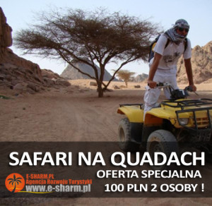 E-SHARM PL safari na quadach na pustyni