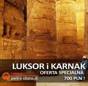 E-SHARM Wycieczka Luksor i Karnak z Sharm el Sheikh