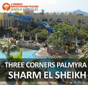 hotel THREE CORNERS PALMYRA Sharm el Sheikh Egipt